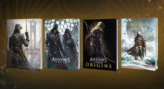 The Art Of Assassin S Creed Get Them All Titan Books