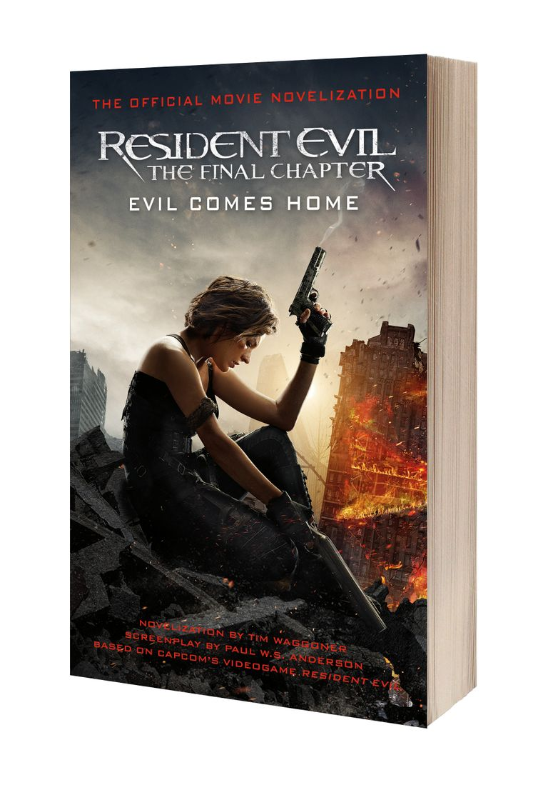 Read An Extract From Resident Evil The Final Chapter The