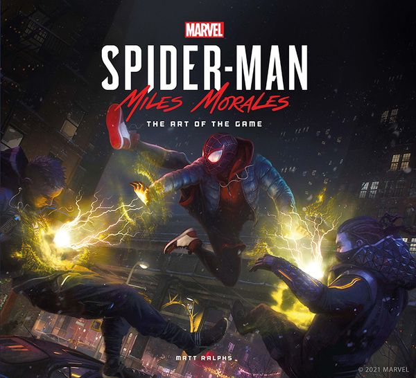 Marvel's Spider-Man: Miles Morales – The Art of the Game @ Titan Books